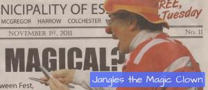 Jangles the Magic Clown